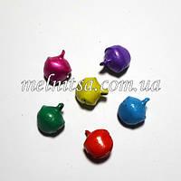 Бубенцы  цветные,  матовые, 10 мм, 5 шт.