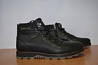 Зимние мужские ботинки Belvas.Натуральная кожа.