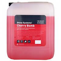 Shine Systems Cherry Bomb Shampoo - Автошампунь для ручной мойки 10 л