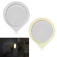 LED Контрольно-измерительный блок Датчик Induction Night Light Plug-in Лампа для спальной спальни