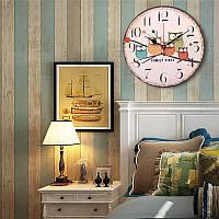 Большой Вуд настенные часы Сова Урожай Rustic для домашнего офиса кафе украшения