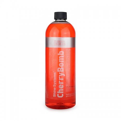 Shine Systems Cherry Bomb Shampoo - Автошампунь для ручной мойки 1 л