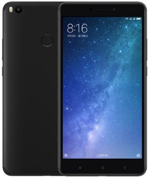 "Смартфон Xiaomi Mi Max 2 Black 4/64 Gb, 6.44"", Snapdragon 625, 3G, 4G"