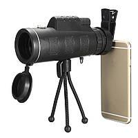 40x60 Водонепроницаемый портативный Монокуляр телескоп высокого разрешения HD Travel с компасом