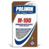 Раствор строительный цементный М-100 (25 кг) Polimin