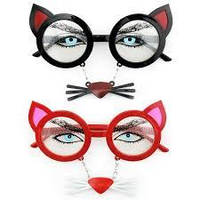 Очки с усами Кошка