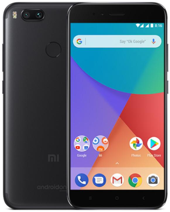 """Смартфон Xiaomi Mi A1 Black 4/64 Gb, 5.5"""", Snapdragon 625, 3G, 4G"""