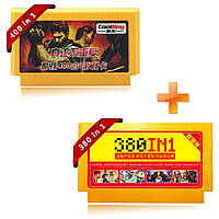 Coolboy 400 в 1 и 380 в 1 8 бит FC NES Game Cartridge Классическая игровая карта