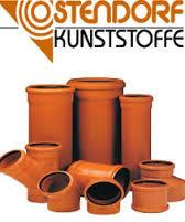 Ostendorf KG Зовнішня каналізація ПВХ (Німеччина)