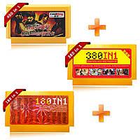 Coolboy 400 в 1 180 в 1 380 в 1 3шт 8 бит FC NES Game Cartridge Классическая игровая карта