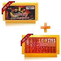 Coolboy 400 в 1 180 в 1 2шт 8 бит FC NES Game Cartridge Классическая игровая карта