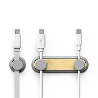 BCASE Magnetic Cable Desktop Органайзер Держатель для управления кабелем Tup для Xiaomi iPhone