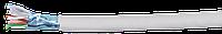 ITK Кабель связи витая пара F/UTP, кат.6 4x2х23AWG solid, PVC, 305м, серый