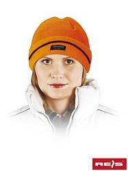 Шапка зимова помаранчева Reis Польща (захист для голови) CZBAW-THINSUL P