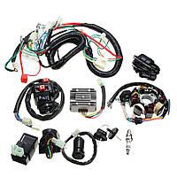 125cc150cc200cc250ccQuadЭлектрическая катушка CDI Провод Комплект проводов для сборки проводов жгута проводов