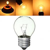 E27 25W/40W Теплый белый ретро круглый Эдисон накала лампы свет лампы AC220V