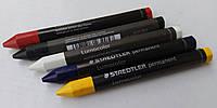Мелок, толстый STAEDTLER Lumocolor permanent  omnigraph для рисования и разметки на камне, стекле, дереве. , фото 1