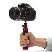 DSLR камеры ручной резиновая ручка ручка подставка Стабилизатор Съемные Ballhead