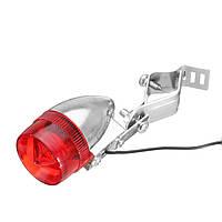 9 x2.5cm светодиодный индикатор Классический ретро велосипед задний красный свет кабель Держатель Кронштейн ATV