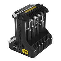 Nitecorei8Multi-Slot5VUSBИнтеллектуальное зарядное устройство для Li-ion/IMR/Ni-MH Батарея