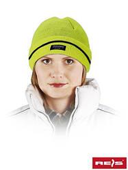 Шапка зимняя желтая Reis Польша (защита для головы) CZBAW-THINSUL Y