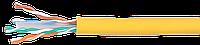 ITK Кабель связи витая пара U/UTP, кат.6 4х2х23AWG solid, PVC, 305м, серый