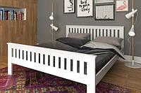 Кровать двуспальная деревянная Жасмин из натурального Бука, фото 1