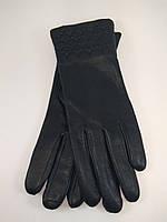 Перчатки женские из натуральной кожи на кролике