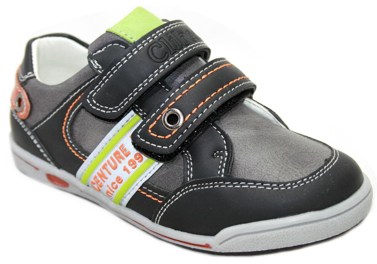Дитячі туфлі для хлопчика Clibee Румунія розміри 27-32