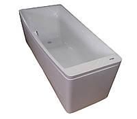 Ванна асимметричная без гидромассажа, 1700*750*630мм, левая, акриловая