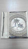 Фотоальбом плетеный ручной работы на 20 фото