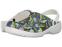 Сабо (Оригинал) Crocs Classic Tropical IV Clog White