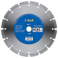 Диск отрезной сегментный S&R по абразивным материалам Standart 230