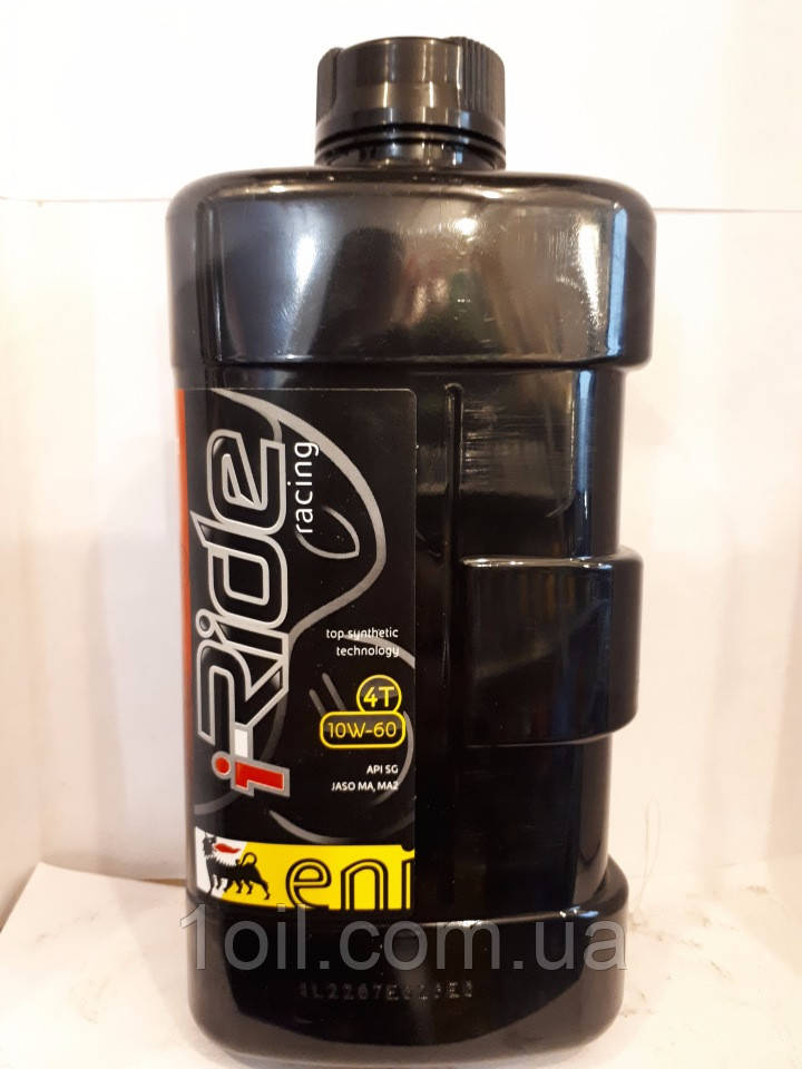 Масло моторное 4T Eni i-Ride racing 10W60  1л