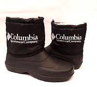 Сапоги дутики подростковые-детские зимние Columbia низкие (32-39 размеры) C0007