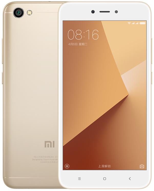 "Смартфон Xiaomi Redmi Note 5A Gold 2/16 Gb, 5.5"", Snapdragon 425, 3G, 4G"