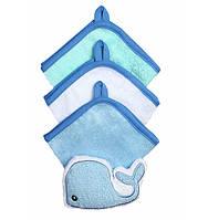 Набор моющих рукавиц с губкой Babyono