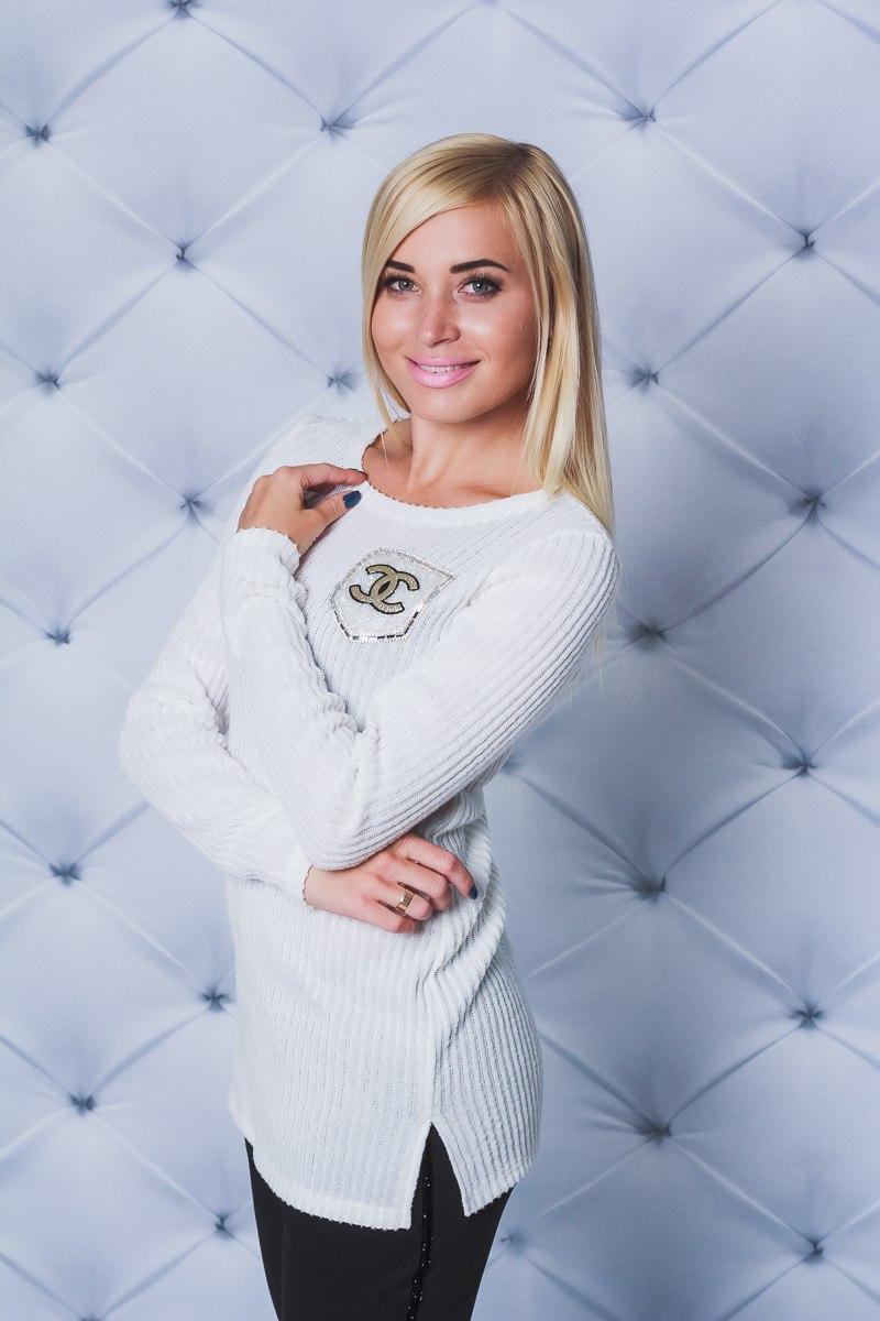 7ab160c4c61ad Кофта с разрезами белая - Интернет магазин одежды Модна Лавка в Кременчуге