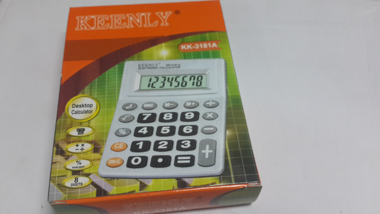 Калькулятор средний  KK3181