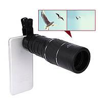 16-кратный оптический телескопический луп Телефон камера Clip-on Объектив для мобильного телефона