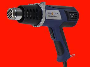 Строительный фен Wintech WHG-2000RT с дисплеем