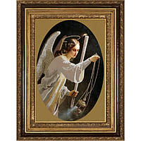 """Схема для вышивки бисером """"Ангел со свечой"""""""