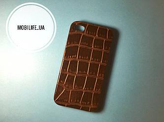 Чехол iphone 4,4s Крокодил