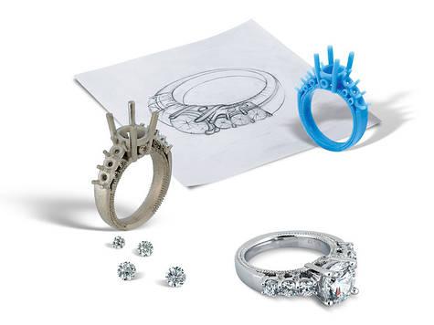 Разработка дизайна ювелирных украшений