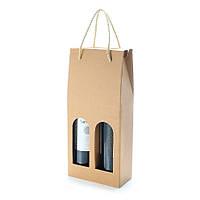 KCASA KC-PC03 2-бутылка гофрированного вина Подарок Сумка Алкоголь Ликер Держатель для бутылок Напитки Бутылка Перевозчик