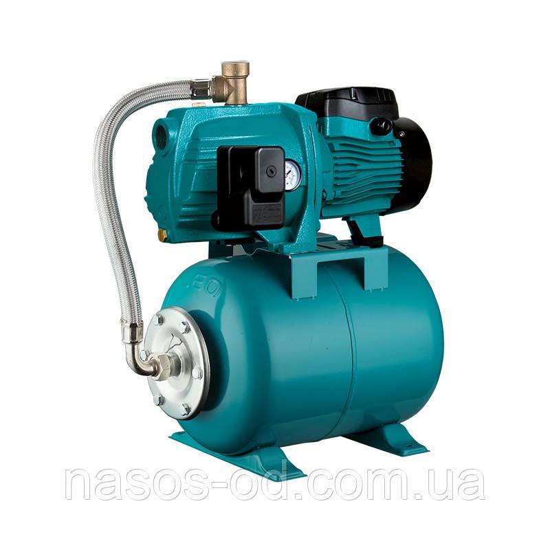 Насосная станция гидрофор Leo 3.0 для воды 0.45кВт Hmax32м Qmax45л/мин (самовсасывающий насос) 24л (776382)