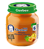 Пюре Gerber Яблоко, абрикос и банан, 130 г
