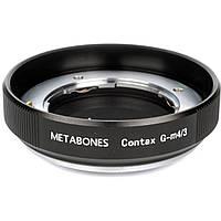 Metabones Contax G Mount Lens to Micro Four Thirds Lens Mount Adapter (Black) (MB_CG-M43-BM1), фото 1