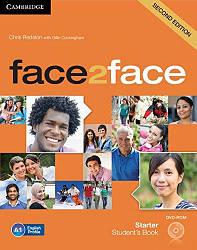 Face2face 2nd Edition Starter SB + DVD-ROM