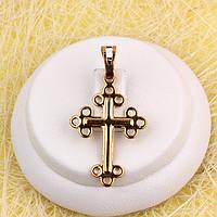 R4-0768 - Позолочений кулон-хрест